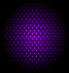 Abstract global with purple dots background vector image
