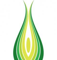 corn logo design vector image