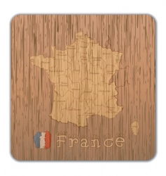 France map vector image vector image