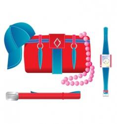 accessories vector image