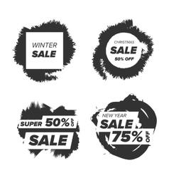Super sale badge vector image