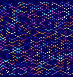 abstract geometric background random colored vector image