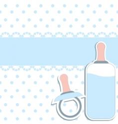 baby design elements vector image