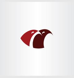 eagle birds logo sign clip art vector image