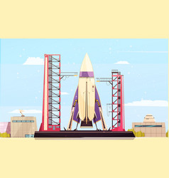 Missile on site composition vector