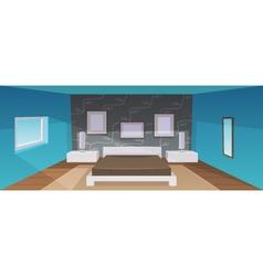 Modern bedroom vector