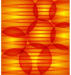 Abstract red orange background with circles vector image vector image