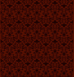seamless tiling antique pattern vector image vector image