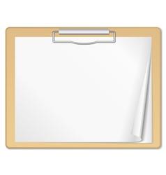 Clipboard vector image vector image