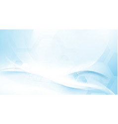 abstract blue and white wavy futuristic background vector image