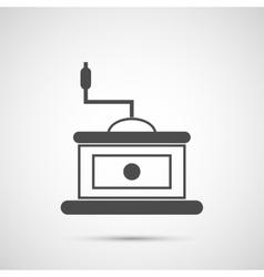 Coffee design Coffeemill icon vector image