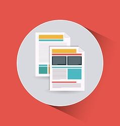 Documents icon vector