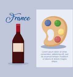 France culture design vector
