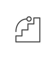 goal line icon vector image