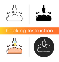 Grease for baking icon vector
