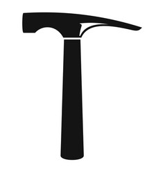 hammer icon simple style vector image