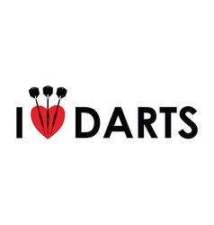 I love the darts vector