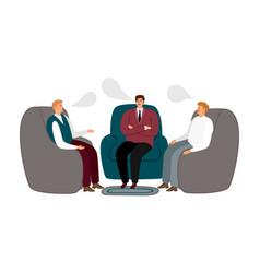 Male meet men communicate vector