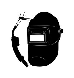 masks for welding tools for welding welding vector image