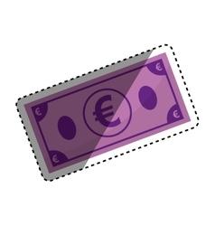 Money billet cash vector
