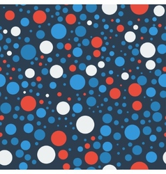 Seamless bubbles pattern vector