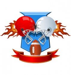 sport helmets vector image