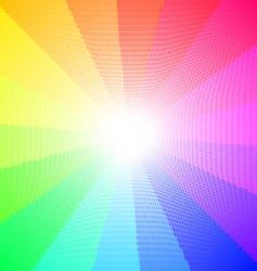 textured spectrum vector image
