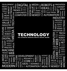 TECHNOLOGY vector image