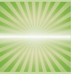 green color burst vector image