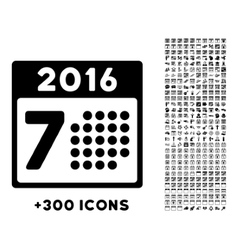 2016 Week Syllabus Icon vector
