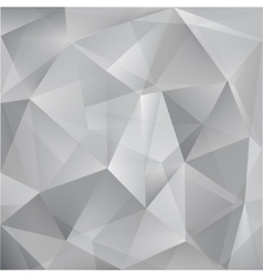 abstract triangle grey background vector image