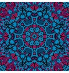 Arabesque seamless pattern Background vintage vector image