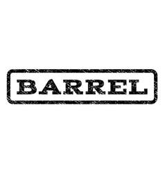 Barrel watermark stamp vector