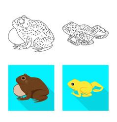 Design wildlife and bog logo collection vector