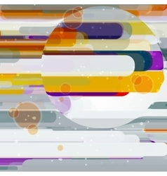 Futuristic abstract vector image