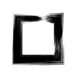 Grunge Square Frame vector image