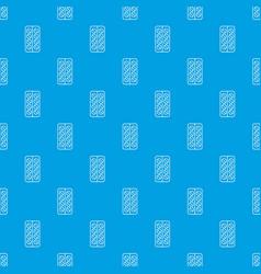 pill box pattern seamless blue vector image