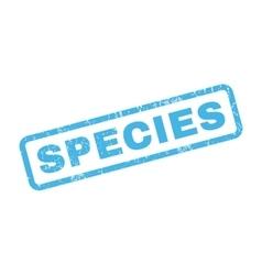 Species Rubber Stamp vector