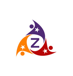 Success life coaching letter z vector