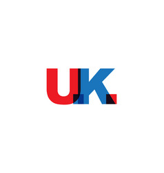 uk phrase overlap color no transparency concept vector image