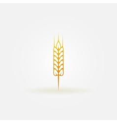 Wheat logo or icon vector
