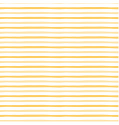 yellow pattern with handmade stripes vector image