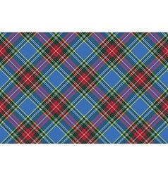 Macbeth tartan kilt fabric textile diagonal vector