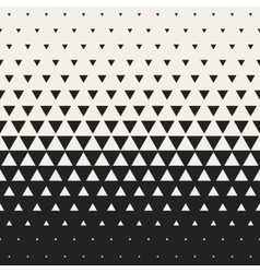 Seamless black and white morphing triangle vector