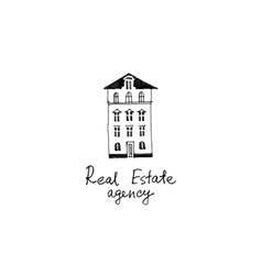 Real estate logo template vector image vector image