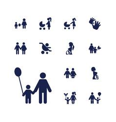 13 parent icons vector