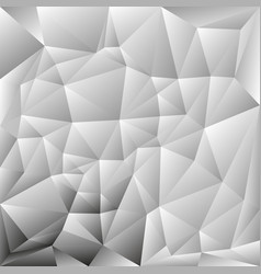 Abstract polygon background grayscale vector