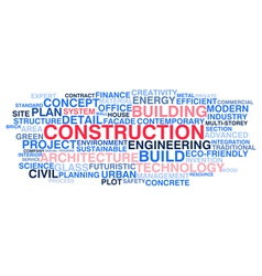 Building construction and civil engineering vector