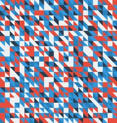 geometric abstract backgrounds retro vector image