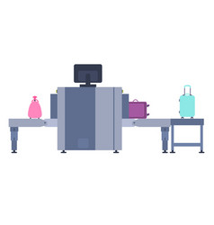 Introscope for baggage screening vector